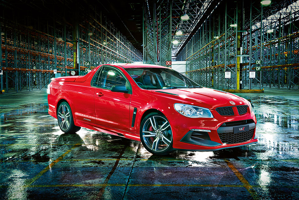 Vauxhall Maloo LSA Ute Reaches 62mph in 4.6 seconds