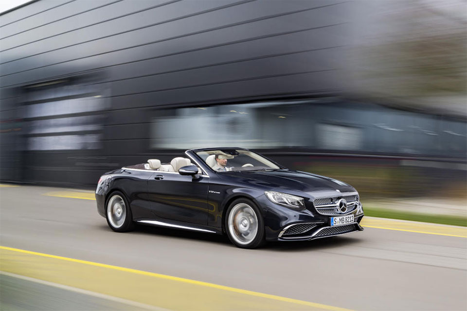 Mercedes-AMG S 65 Cabriolet Packs 630hp V12 into a Drop Top