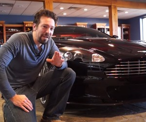 Geeking out with the Aston Martin DBS
