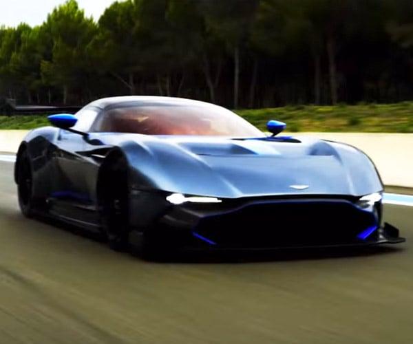 Aston Martin Vulcan Makes Sweet Music