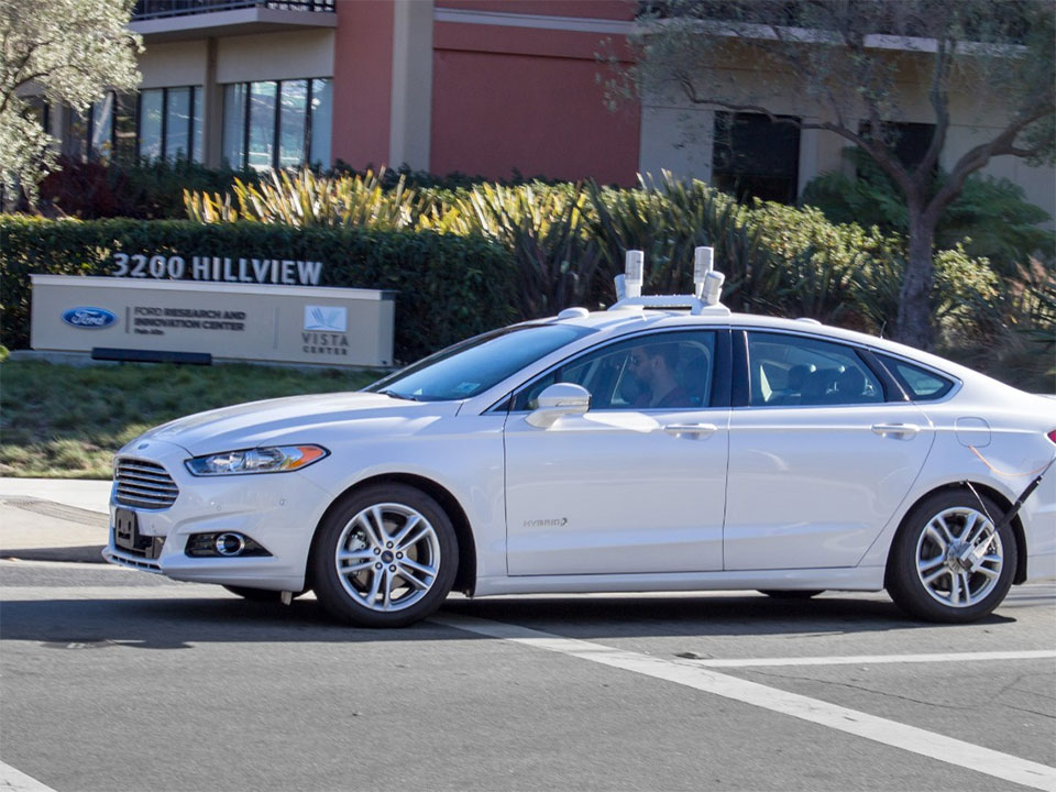 Ford Autonomous Vehicle Testing on Public Roads Starts in 2016