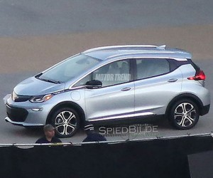 Production Chevy Bolt EV Spied in the Flesh