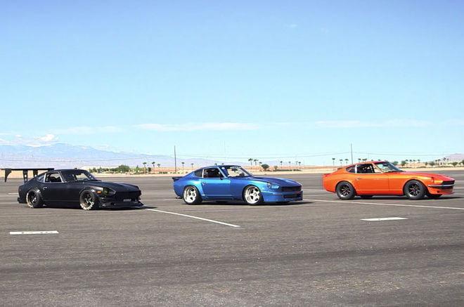 Classic Datsun Zs Battle It out