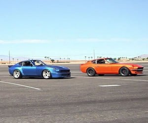 Classic Datsun Zs Battle It out
