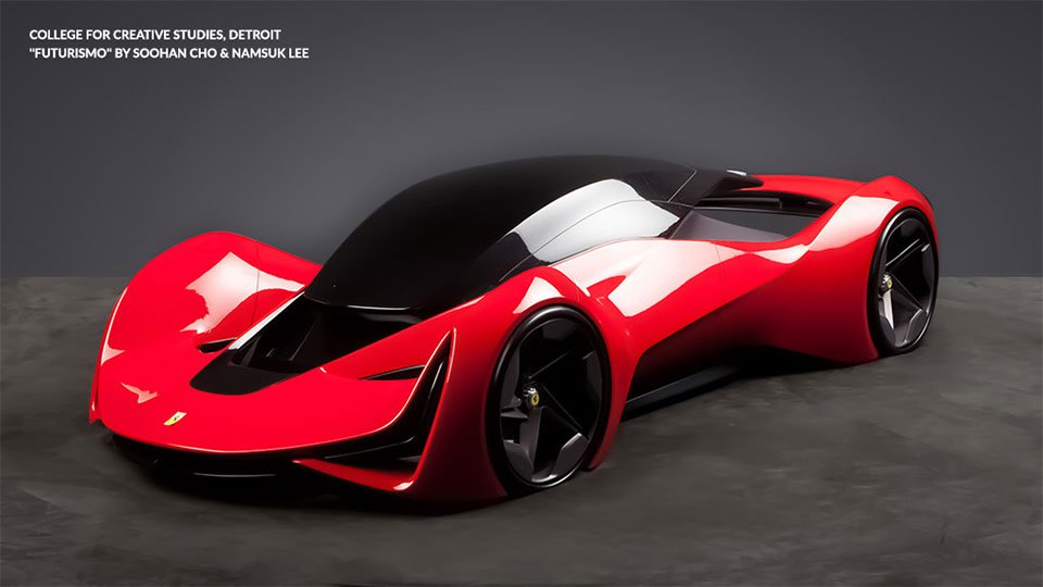 Ferrari Design Challenge: What Will a 2040 Ferrari Look Like?