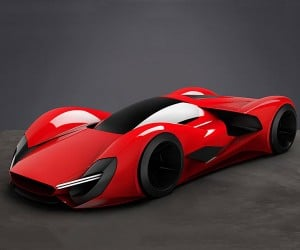 Ferrari Design Challenge: What Will a 2040 Ferrari Look Like?