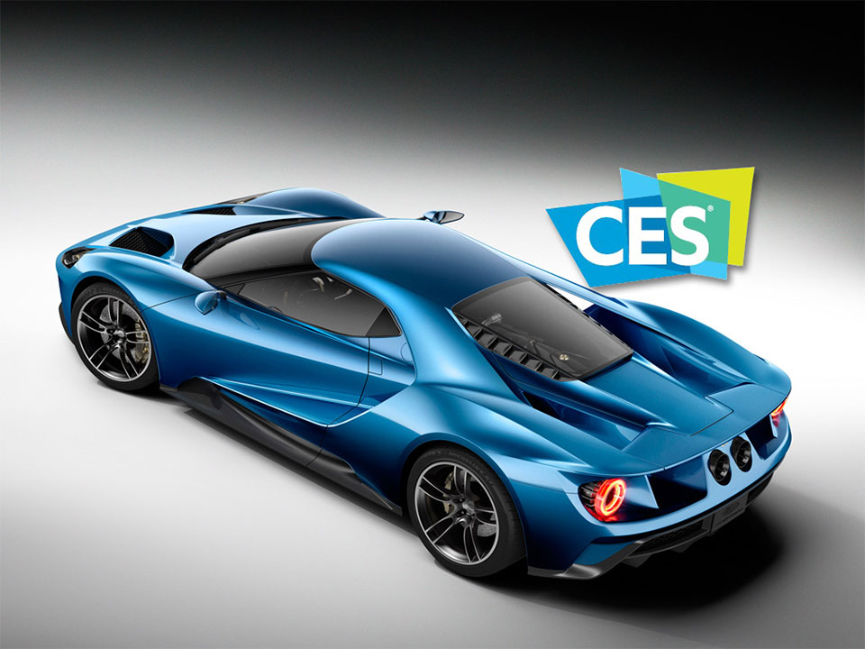 Ford GT Named Official Car of CES 2016