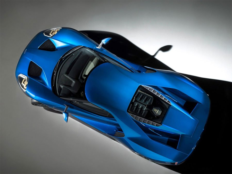 Ford GT Sports Hybrid Gorilla Glass Windshield