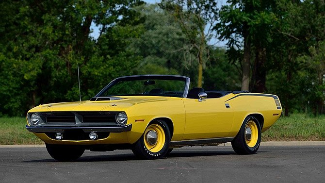 Two Rare Hemi 'Cuda Convertibles Head to Auction