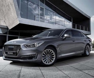 Genesis G90 Specs and Images Unveiled