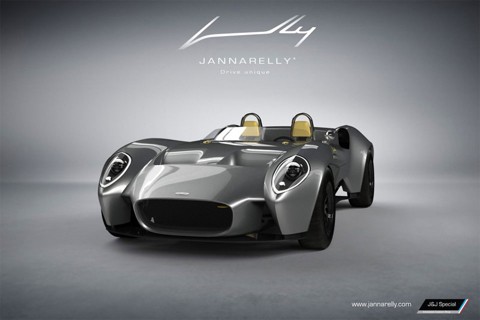 Jannarelly Channels '60s Style for Design-1 Convertible