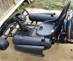 Jet-powered Go Kart Turns up on Craigslist