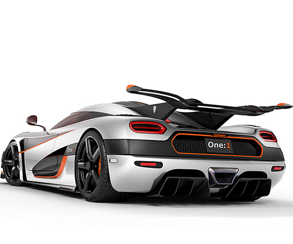 Koenigsegg One:1 Development Mule for Sale