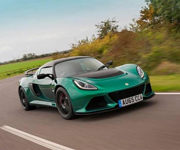 Lotus Exige Sport 350 is Light, Fast, and Plaid