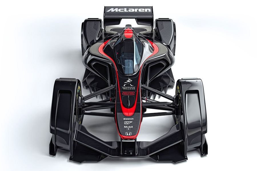 McLaren MP4-X is Firefox on Wheels