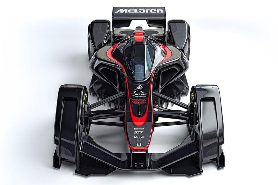 McLaren MP4-X is Firefox on Wheels