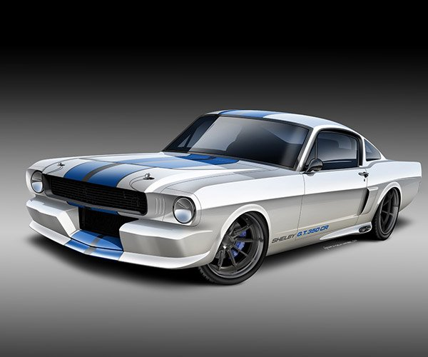 Classic Recreations Puts EcoBoost V6 into Shelby Mustang Reproductions