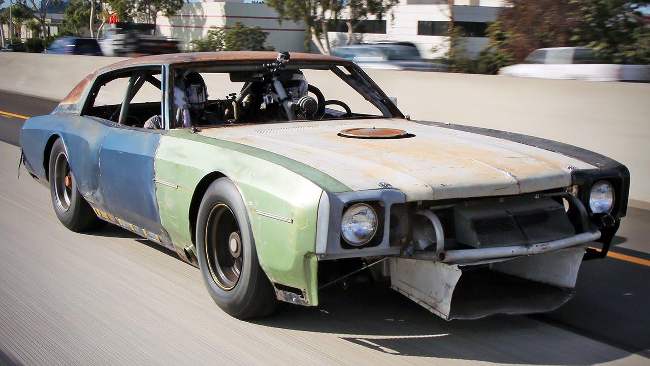 Roadkill Builds Street Legal 1970 Monte Carlo Dirt Track Racer ...