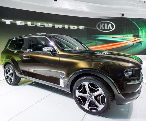 Kia Telluride Concept Rides into Detroit