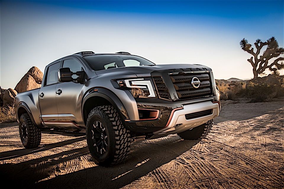 Nissan Titan Warrior Concept is a Raptor Diesel