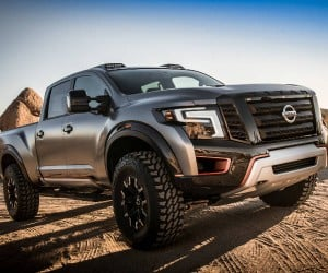 Nissan Titan Warrior Concept is a Raptor Diesel