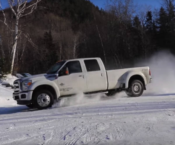Snowed In? Practice Your Drifting Skills!