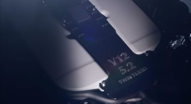 Aston Martin Teases New 5.2L V12 Twin-Turbo Engine