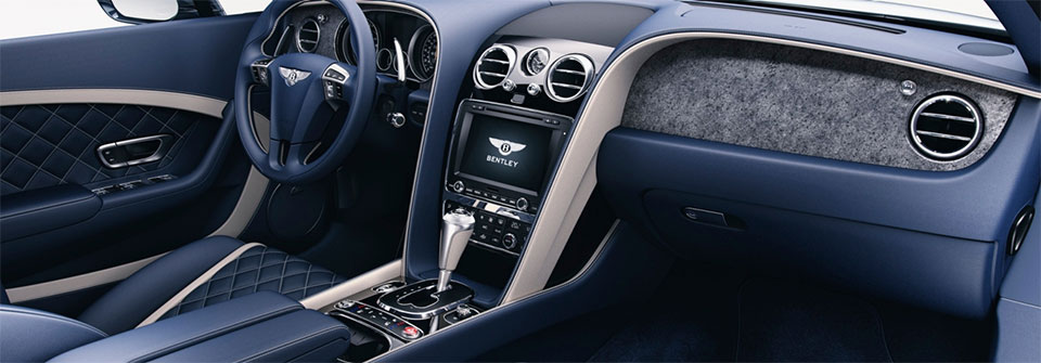 Bentley's New Trim Options Rock