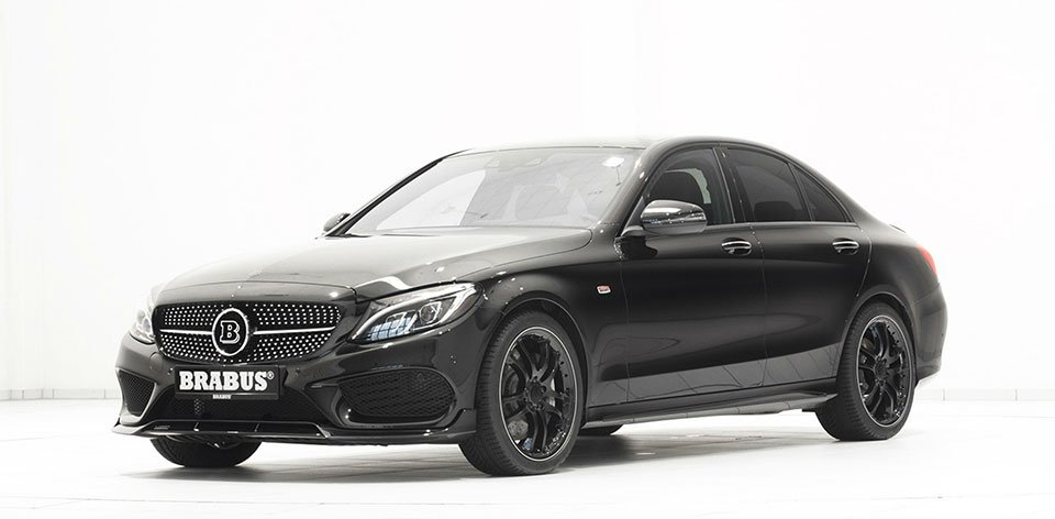 Brabus Mercedes-Benz C 450 4MATIC and AMG C43
