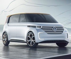 Volkswagen Unveils BUDD-e Concept at CES 2016