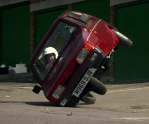 Clarkson Admits Flipping Reliant Robin Was Rigged