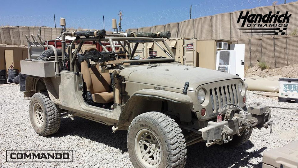Jeep Wrangler Might Head Back to the Battlefield
