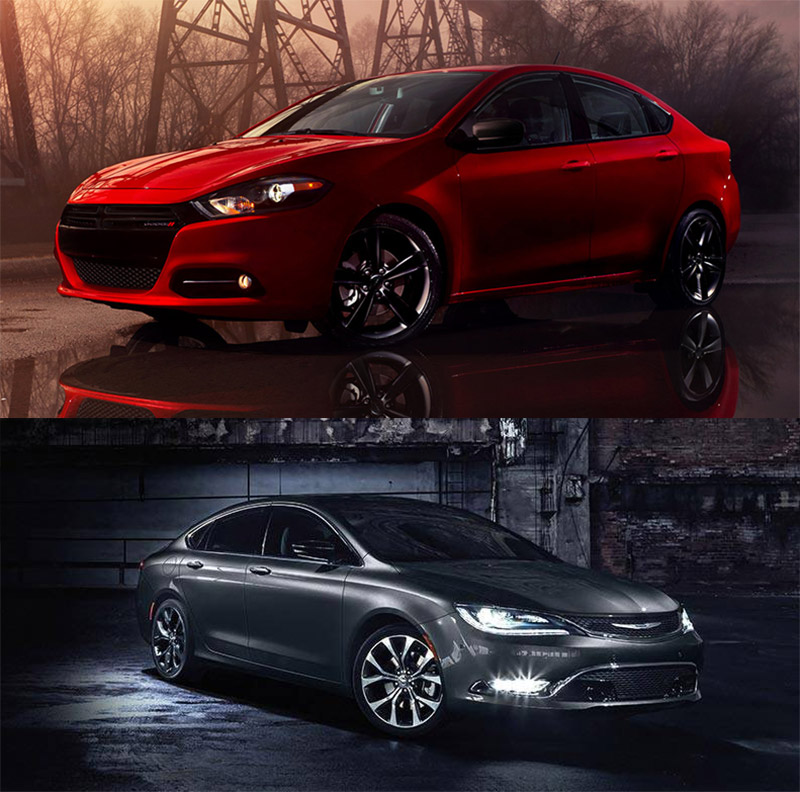 Dodge Dart and Chrysler 200 Tossed to the Meh Heap