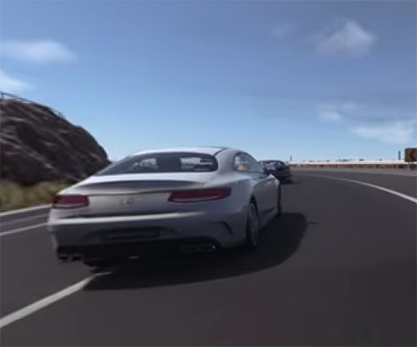 360 Degree Fun with a Virtual AMG S65 Coupe