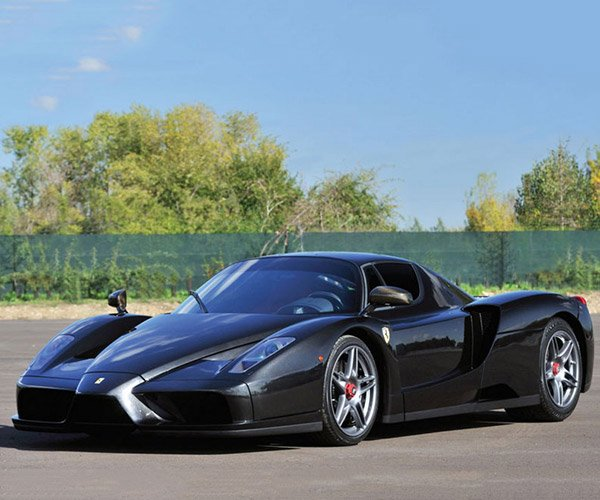 Ferrari Enzo Snapped in Half by Wreck Heads to Auction