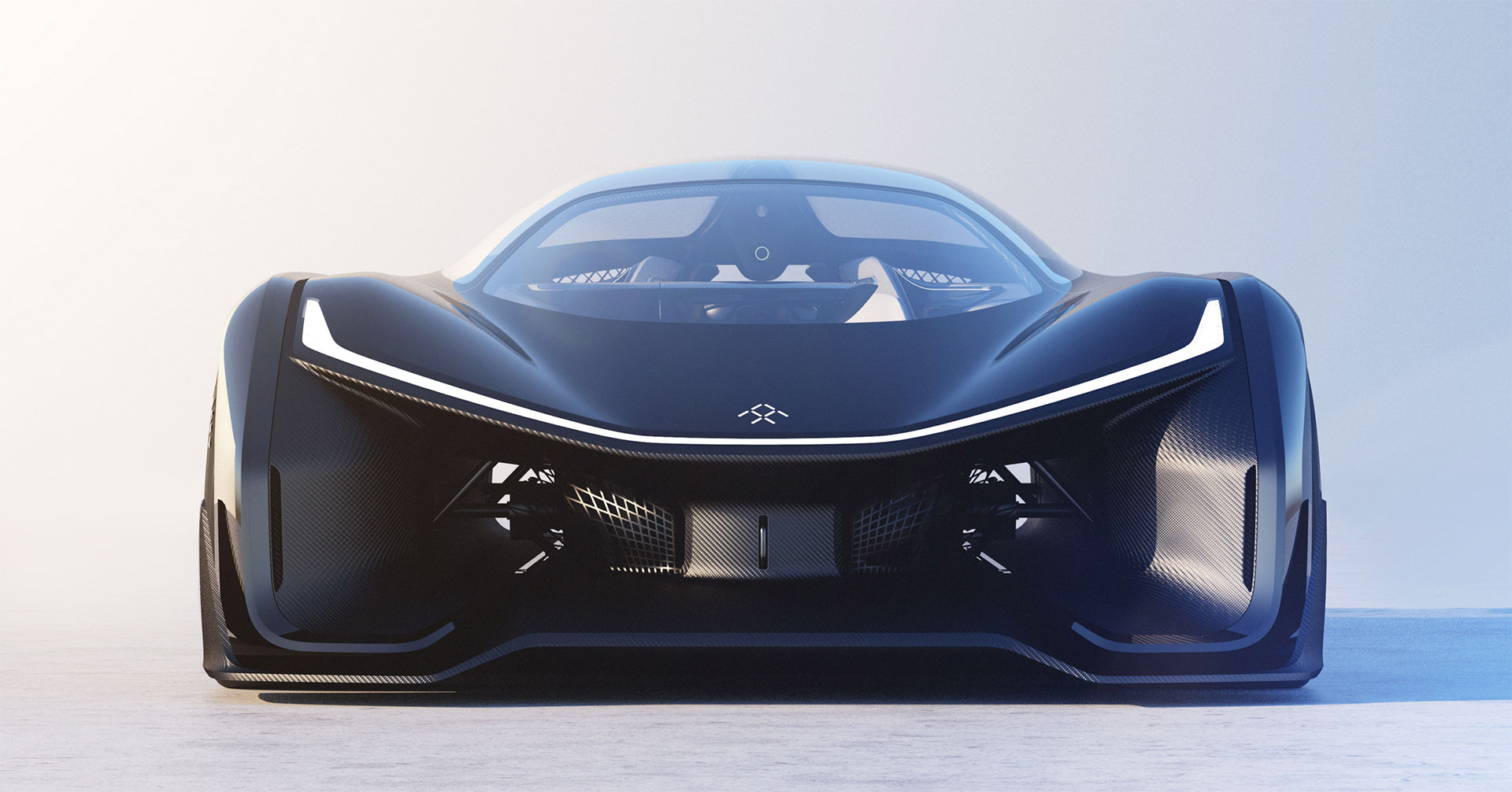 Faraday Future FFZERO1 Concept Debuts at CES 2016