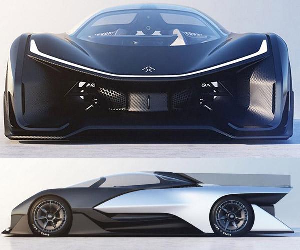 Faraday Future FFZERO1 Concept Debuts at CES 2016