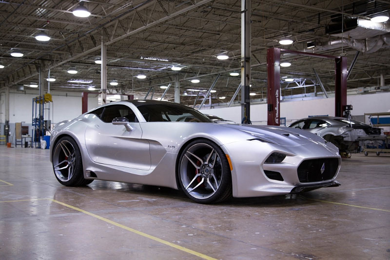 VLF Automotive Force 1 V10 is a Rebodied Viper