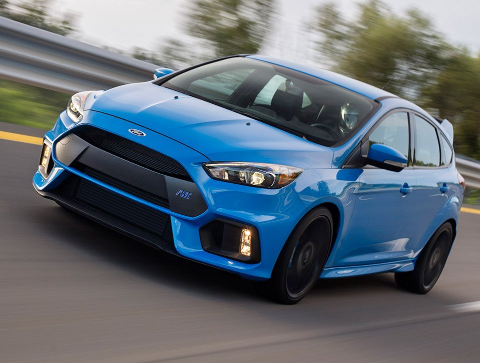 First Ford Focus RS Rolls off Assembly Line