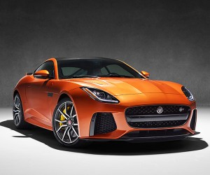 Jaguar F-TYPE SVR Headed to Geneva