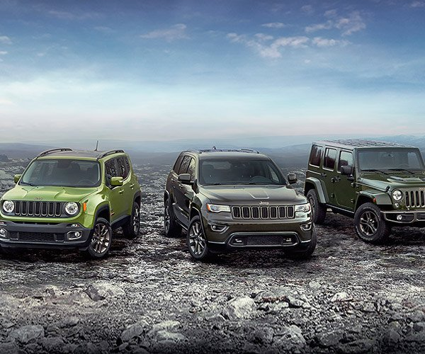 Jeep Celebrates 75th Anniversary with Special Editions