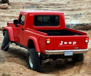 Jeep Confirms Wrangler Based Pickup Truck for 2017