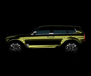 Kia Teases Full-Size SUV Concept for Detroit Unveil