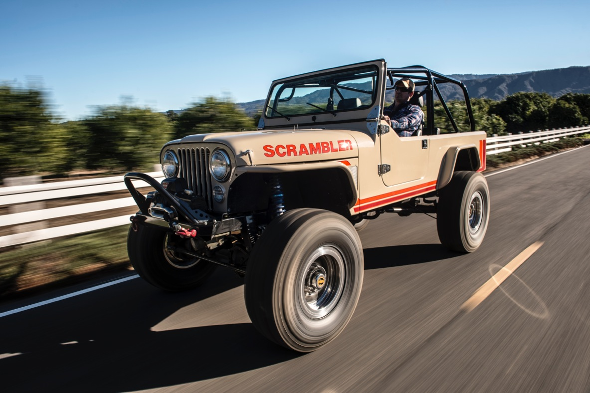 Legacy Scrambler Jeep Is a Rare Vintage