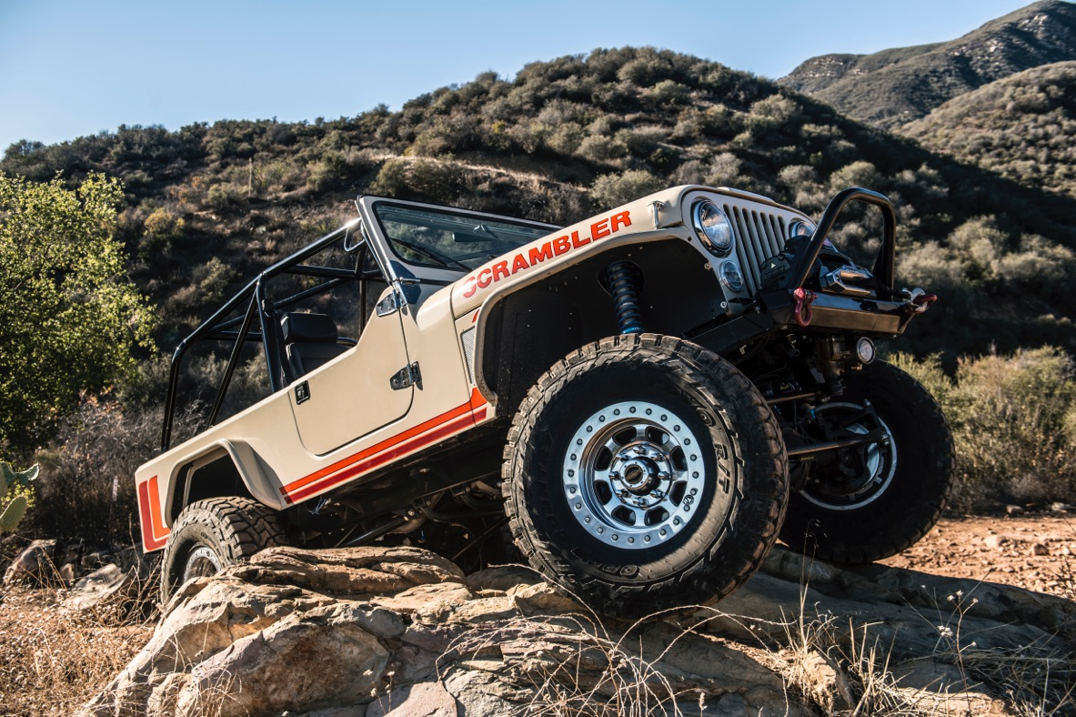 Legacy Scrambler Jeep Is a Rare Vintage | The Thrill of Driving