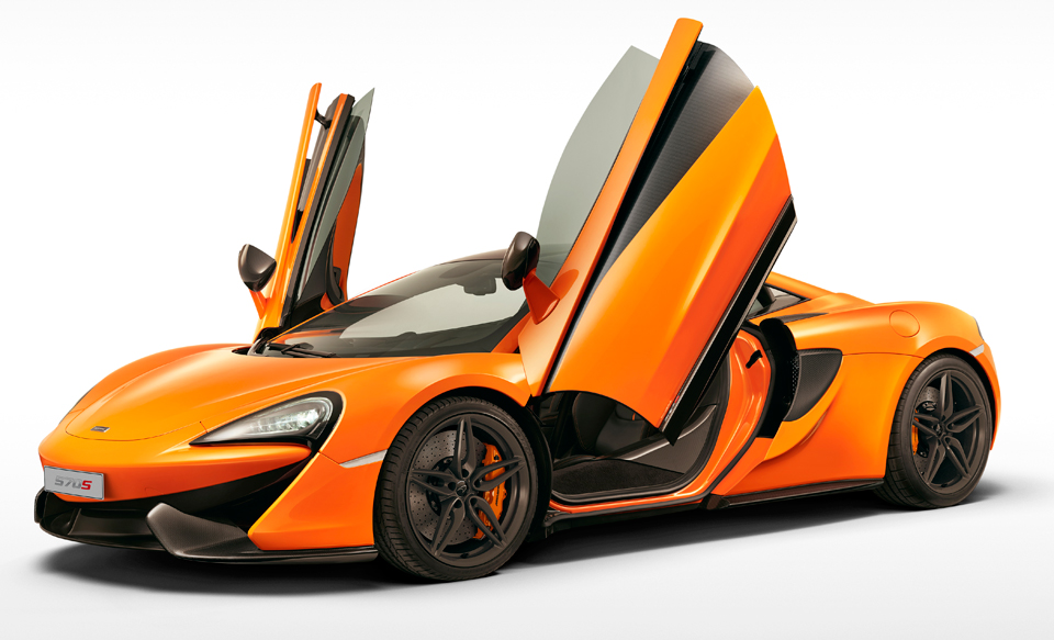 Lease a McLaren 570S Coupe for $2,200 a Month