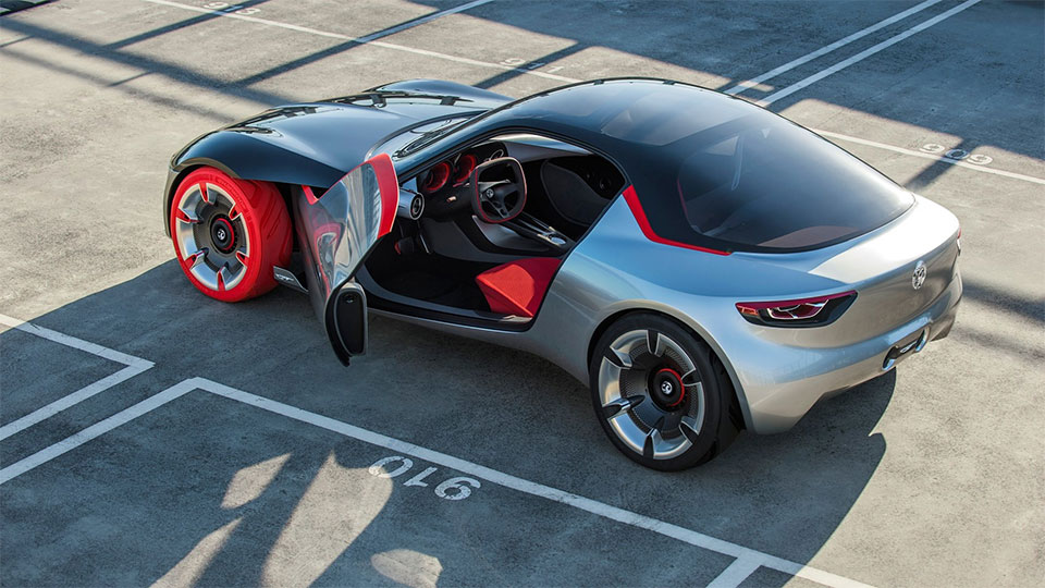 Opel GT Concept: Where's Windows?