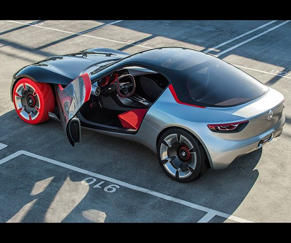 Opel GT Concept: Where's Windows?