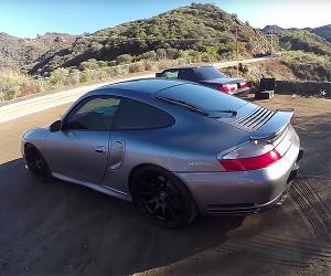 Spin Through California Canyon Roads in a Porsche 996 Turbo