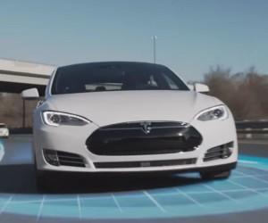 Tesla Flaunts Summon and Autopilot Features